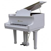 Schoenhut String Baby Grand 44 Key - White