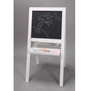 Kid S 2 Sided Folding Art Easel W White Frame