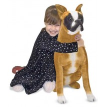 Melissa & Doug Boxer Plush Dog