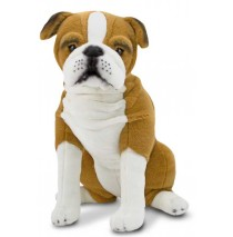 Melissa & Doug English Bulldog  Plush Dog
