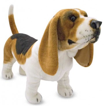 Basset Hound Plush Dog - 4866-Plush-Basset-Hound-360x365.jpg