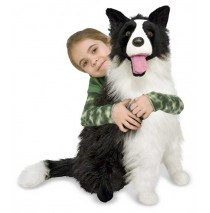 Border Collie Plush Dog