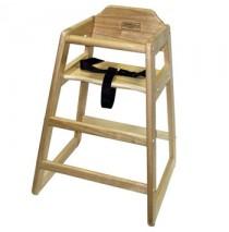 Lipper Child's Wooden High Chair - Natural