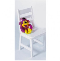 Lipper Kids Set of Two Chair - White