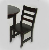 Lipper Kids Set of Two Chair - Espresso