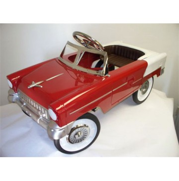 1955 Classic Convertible Pedal Car   Red and White - 55-Classic-Red-Beige-360x365.jpg
