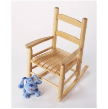 Lipper Child's Rocking Chair - Beechwood