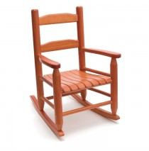 Lipper Child's Rocking Chair - Cherry
