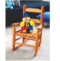 Lipper Child's Rocking Chair - Pecan