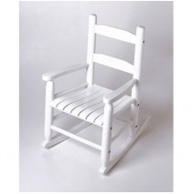 Lipper Child's Rocking Chair White