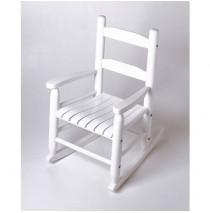 Lipper Child's Rocking Chair White