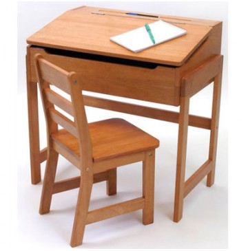 Lipper Slanted Top Desk With Chair in Pecan Finish - 564p-360x365.jpg