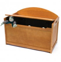 Lipper Pecan Toy Chest & Toy Box