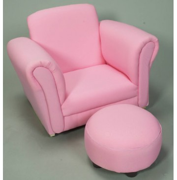 Pink Rocking Upholstered Chair with Ottoman - 6715P-360x365.jpg