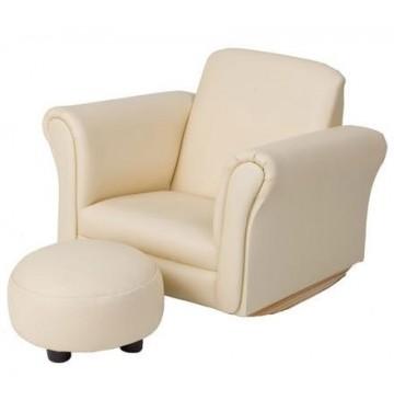 Beige Rocking Upholstered Chair with Ottoman - 6715be-360x365.jpg