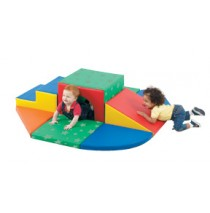 Soft Tunnel Set Soft Play Climber by Childrens Factory
