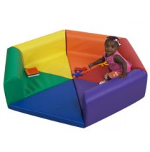Tiny Tot Hexi Pod Soft Play Climber by Childrens Factory