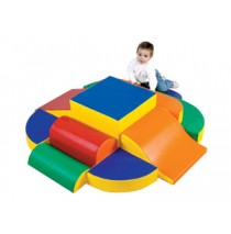 Playtime Island Soft Play Climber by Childrens Factory