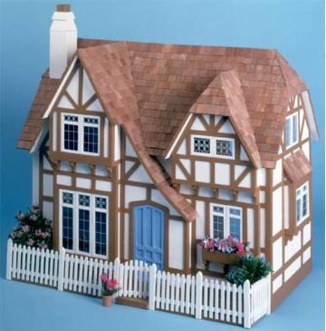 The Glencroft Dollhouse Kit by Greenleaf - 8001-Glencroft-360x365.jpg