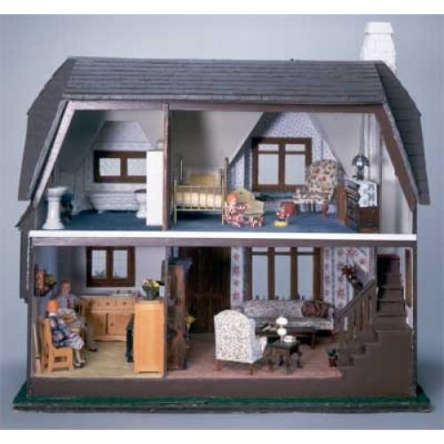 The Glencroft Dollhouse Kit & Wooden Dollhouses At Best