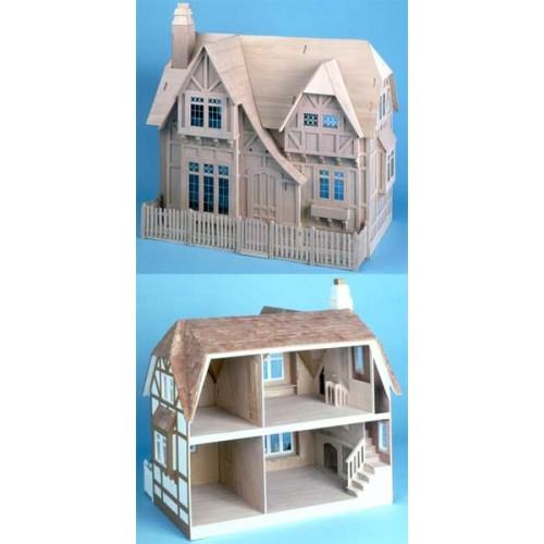The Glencroft Dollhouse Kit Amp Wooden Dollhouses At Best