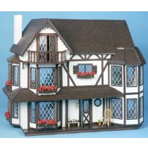 The Harrison Dollhouse Kit by Greenleaf