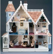 The McKinley Dollhouse Kit by Greenleaf