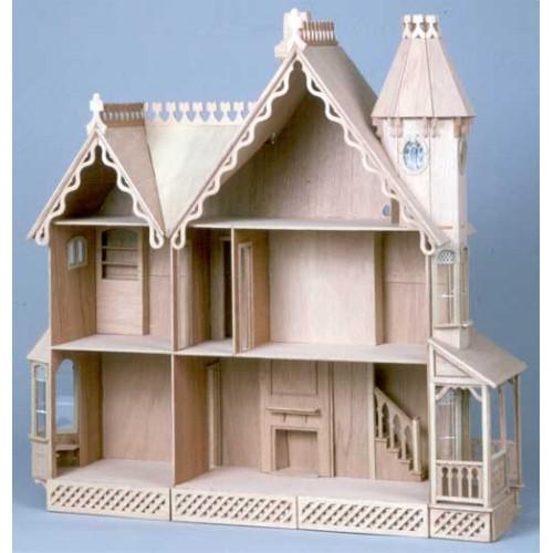 Dollhouse Kits By Greenleaf The Mckinley Dollhouse Kit