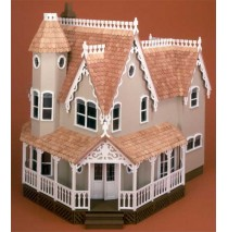The Pierce Dollhouse Kit by Greenleaf
