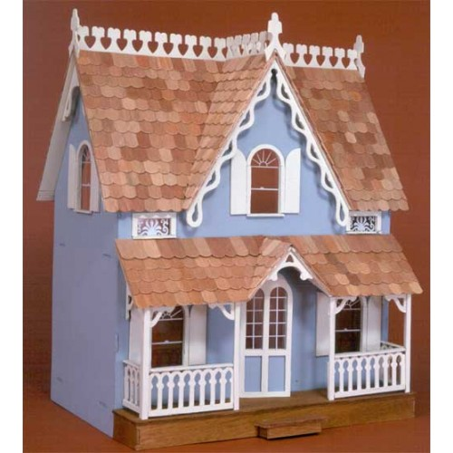Dollhouse Kits By Greenleaf The Arthur Dollhouse Kit