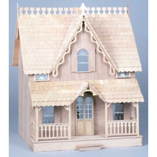Dollhouse Kits By Greenleaf The Arthur Dollhouse Kit