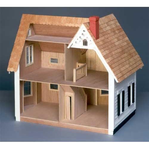 Dollhouse Kits By Greenleaf: The Westville Dollhouse Kit