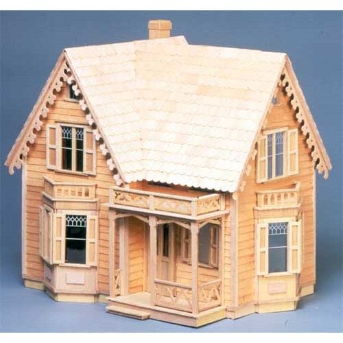 Dollhouse Kits By Greenleaf The Westville Dollhouse Kit