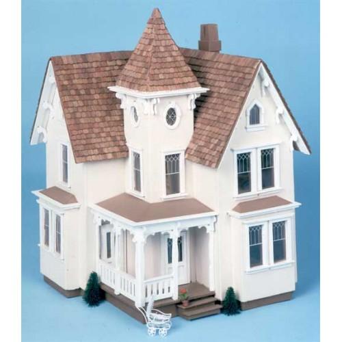 Dollhouse Kits By Greenleaf: The Fairfield Dollhouse Kit