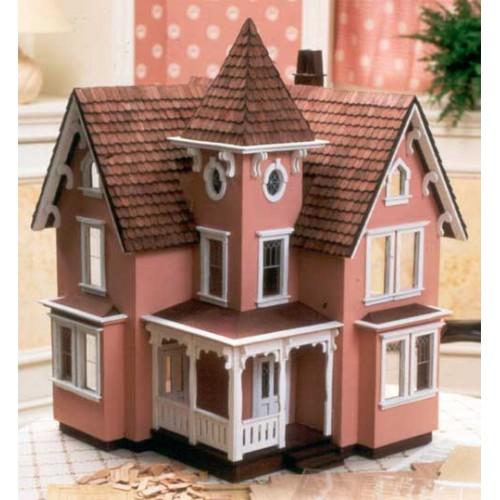 Dollhouse Kits by Greenleaf: The Fairfield Dollhouse Kit ...