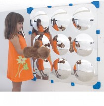 9 Bubble Maxi Mirror by Childrens Factory