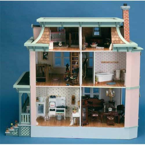 Dollhouse Kits By Corona Concepts The Lily Dollhouse Kit