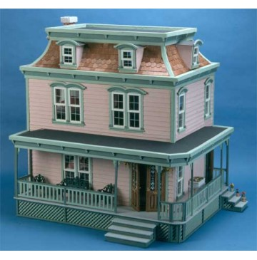 The Lily Victorian Dollhouse Kit by Corona Concepts - 9304-Lily-Front-360x365.jpg