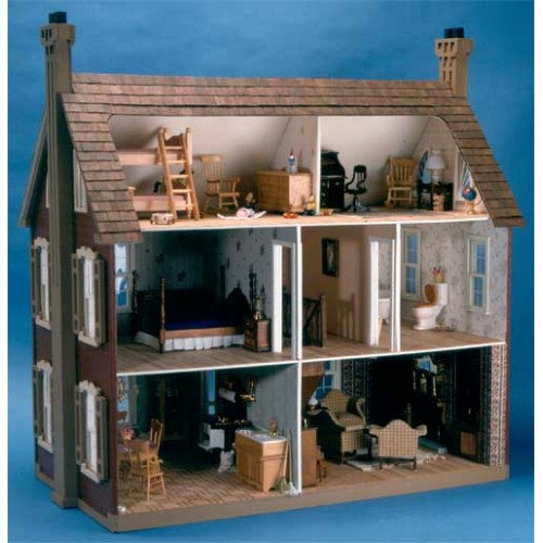 Dollhouse Kits By Corona Concepts The Willow