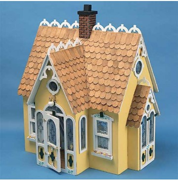 The Buttercup Wood Dollhouse Kit by Corona Concepts - 9306-Buttercup-F-360x365.jpg