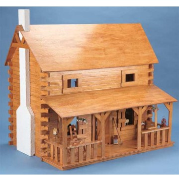 The Creekside Cabin Wooden Dollhouse Kit by Corona Concepts - 9307-Creekside-Cabin-360x365.jpg