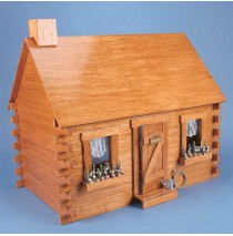 The Shadybrook Cabin Dollhouse Kit by Corona Concepts