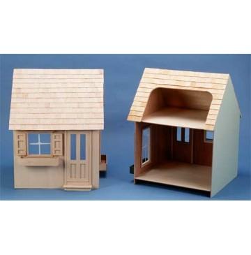 The Primrose Wooden Dollhouse Kit by Corona Concepts - 9310-Unpainted-Primrose-360x365.jpg