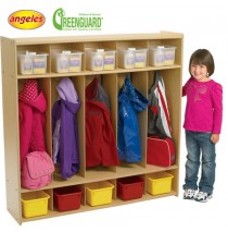 Angeles Value Line 5 Section Preschool Locker