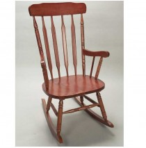 Adult Rocker by Gift Mark - Cherry Finish