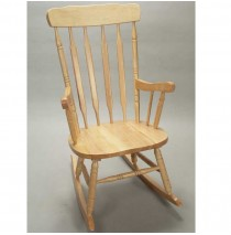Adult Rocker by Gift Mark - Natural Finish