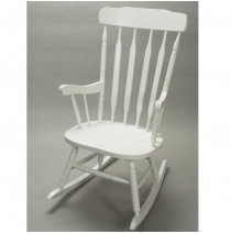 Adult Rocker by Gift Mark - White Finish