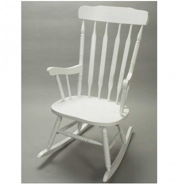 Adult Rocker by Gift Mark - White Finish - Adult-White-Rocking-Chair-360x365.jpg