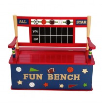 Levels of Discovery All Star Sports Bench Seat w/ Storage