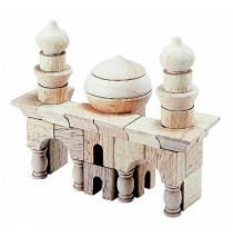 Arabian Block Set Table Top Building Blocks 42 Pcs by Guidecraft